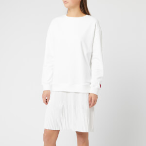 HUGO Women's Nalotta Sweat Dress - Cream