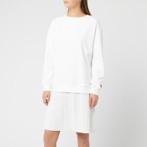 HUGO Women's Nalotta Sweat Dress - Cream