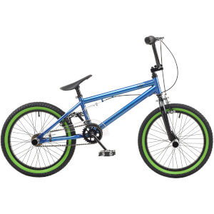 "Rooster Core 18"" Blue BMX Style Bike"