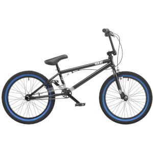 "Hardcore Matt Black 20"" WHL BMX Style Bike"