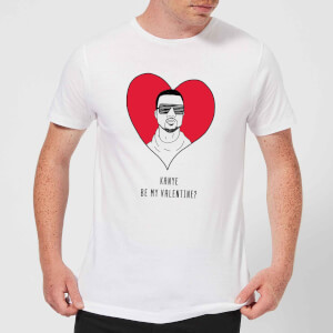 Kanye Be My Valentine? Men's T-Shirt - White