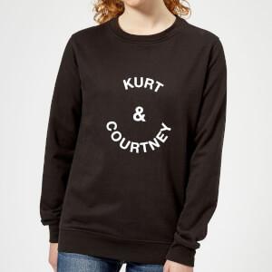 Kurt & Courtney Women's Sweatshirt - Black