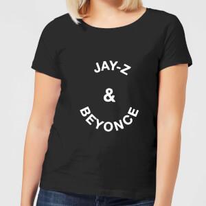 Jay-Z & Beyonce Women's T-Shirt - Black