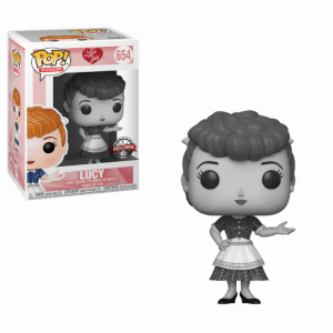 I Love Lucy Lucy Black & White EXC Funko Pop! Vinyl