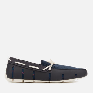 Swims Men's Braided Lace Loafers - Navy/White