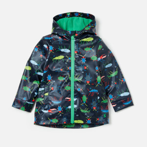 Joules Boys' Skipper Raincoat - Navy Beetle