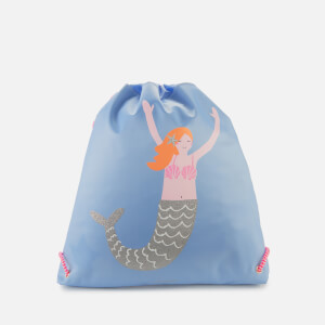 Joules Girl's Active Bag - Blue Mermaids