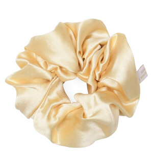 Holistic Silk Pure Silk Scrunchie - Cream