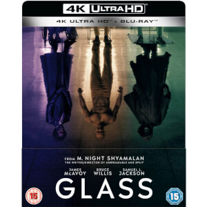 Glass 4K Ultra HD - Zavvi Exclusive Limited Edition SteelBook (Includes 2D Blu-ray)