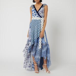 Diane von Furstenberg Women's Ava Dress - Berries Ivory Multi