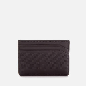 HUGO Men's Subway Card Holder - Black