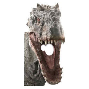 Indominus Rex Dinosaur Stand In Cardboard Cut Out