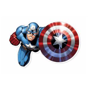 Captain America Shield Bash! Cardboard Cut Out