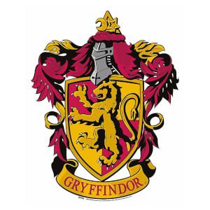 Gryffindor Emblem Cardboard Wall Cut Out Harry Potter Wizarding World