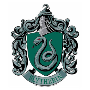 Slytherin Emblem Cardboard Wall Cut Out Harry Potter Wizarding World