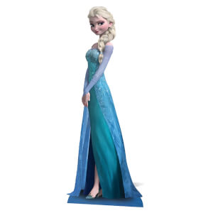 Frozen - Elsa Mini Cardboard Cut Out
