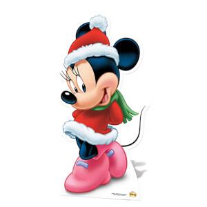 Minnie Mouse Christmas Mini Cardboard Cut Out