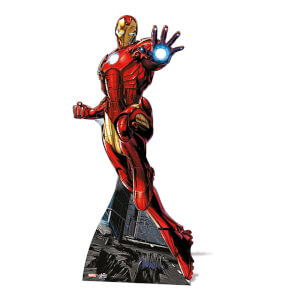 Marvel - Iron Man Mini Cardboard Cut Out