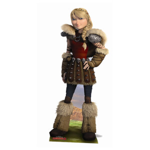 How to Train Your Dragon - Astrid Lifesize Cardboard Cut Out