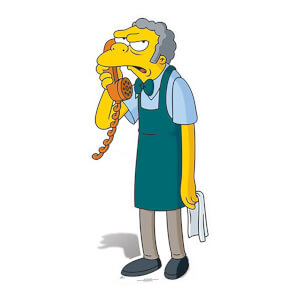 The Simpsons - Moe Lifesize Cardboard Cut Out