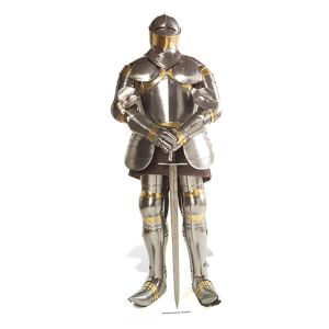 Knight in Shining Armour Lifesize Cardboard Cut Out