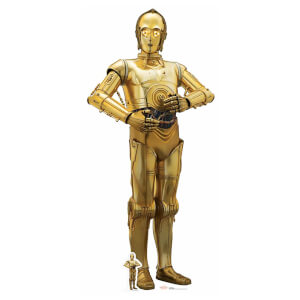 Star Wars: The Last Jedi - C-3PO Lifesize Cardboard Cut Out