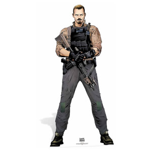 Suicide Squad -Rick Flag Lifesize Cardboard Cut Out