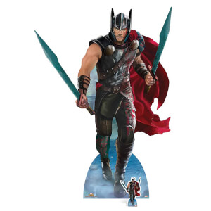 Thor Ragnarok - Thor Mighty Gladiator Lifesize Cardboard Cut Out