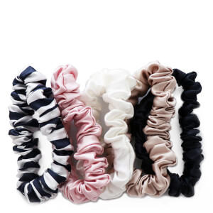 Slip Silk Midi Scrunchies - Multi (Pack of 5)