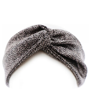 Slip Silk Twist Headband - Leopard