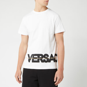 Versace Jeans Men's Welt Logo T-Shirt - White