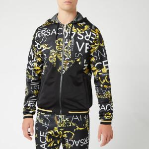 Versace Jeans Men's Multi Print Hoodie - Multi