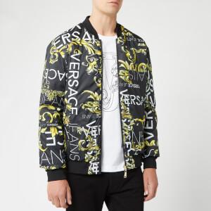 Versace Jeans Men's Multi Print Reversable Jacket - Multi