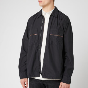 BOSS Men's Lovel Zip Overshirt - Black