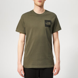 The North Face Men's Fine Short Sleeve T-Shirt - New Taupe Green