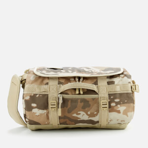 The North Face Base Camp Extra Small Duffel Bag - Moab Khaki Woodchip Camo Desert Print