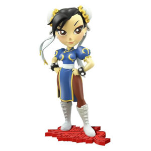 Cryptozoic Street Fighter Knockouts Vinyl Figure Serie 1 Chun-Li 18 cm