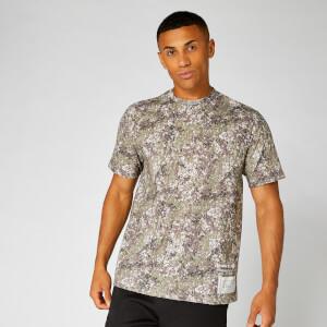 Coordinates Oversized T-Shirt — Camo
