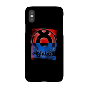 Ei8htball Messy Stencil Logo Phone Case for iPhone and Android