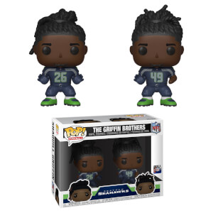 NFL - Fratelli Griffin Pack di 2 Figure Pop! Vinyl