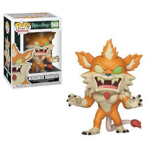 Rick and Morty Berserker Squanchy Pop! Vinyl Figure