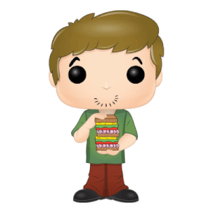 Scooby Doo - Shaggy w/ Sandwich Animation Pop! Vinyl Figure