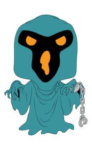Scooby Doo - Phantom Shadow Animation Pop! Vinyl Figure