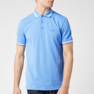 BOSS Men's Paddy Polo Shirt - Open Blue