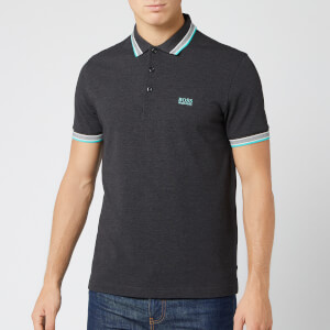 BOSS Men's Paddy Polo Shirt - Charcoal