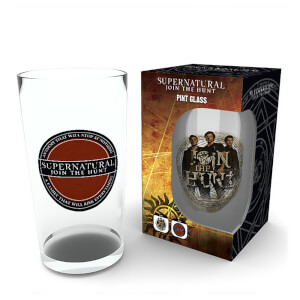 Supernatural Logo Pint Glass
