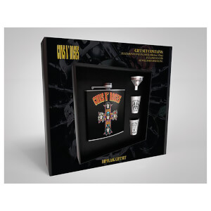 Guns N' Roses Hip Flask Set