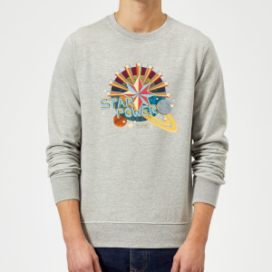 Captain Marvel Star Power Sweatshirt - Grey