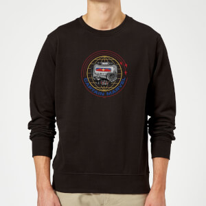 Captain Marvel Pager Sweatshirt - Black