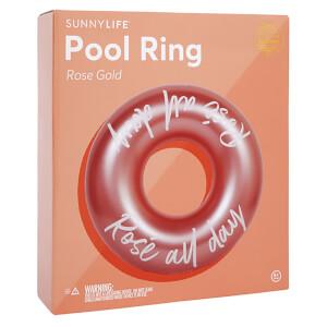 Sunnylife Pool Ring - Rose Gold